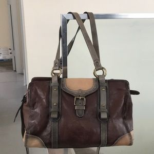 Pikolinos  genuine soft leather bag, made in Spain